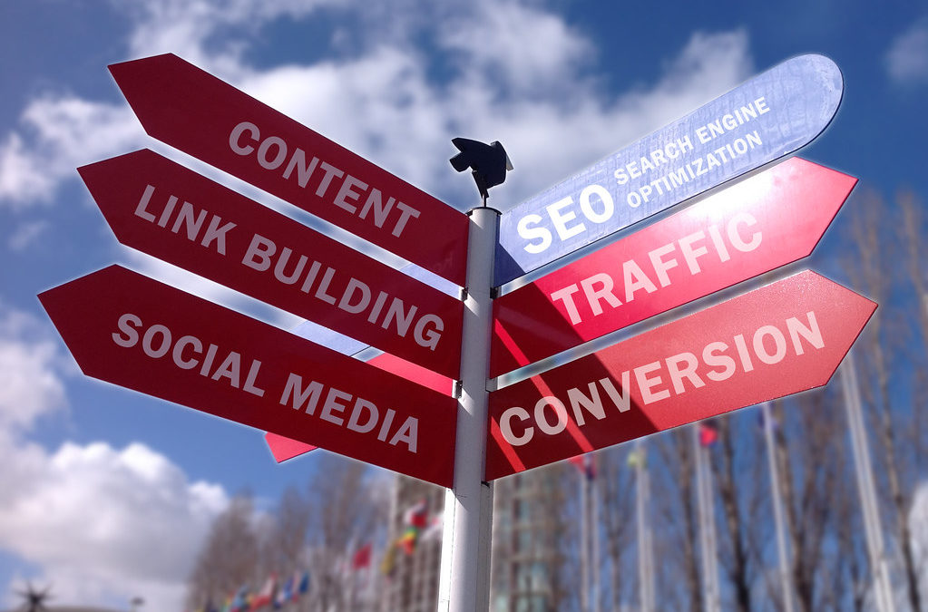 seo street sign services search engine optimization