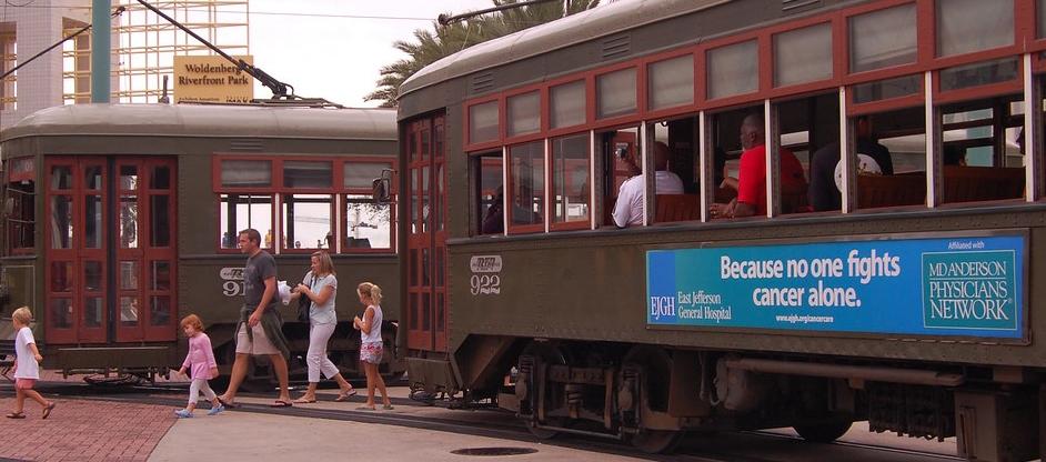 streetcar ad