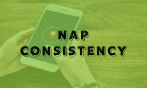nap consistency - search engine optimization